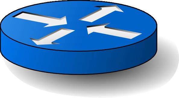 free vector Router clip art