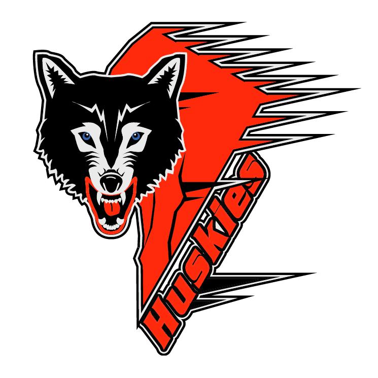 free vector Rouyn noranda huskies