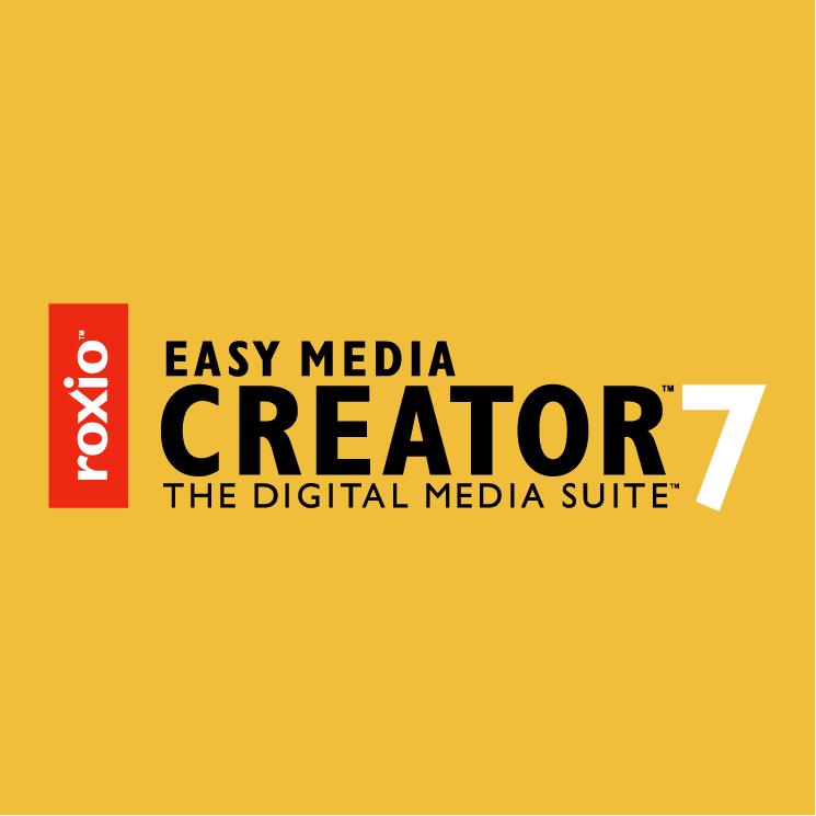 free vector Roxio easy media creator 7