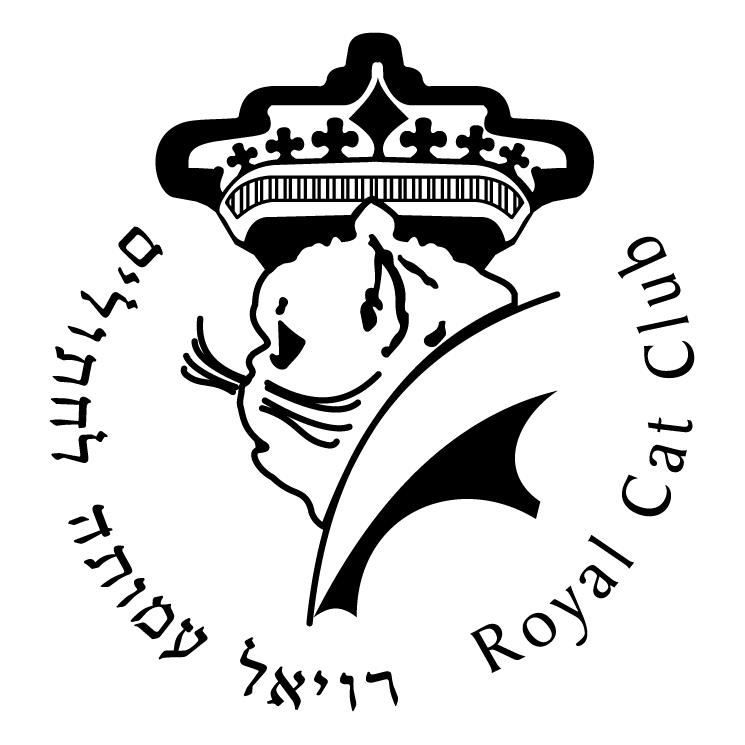 free vector Royal cat club
