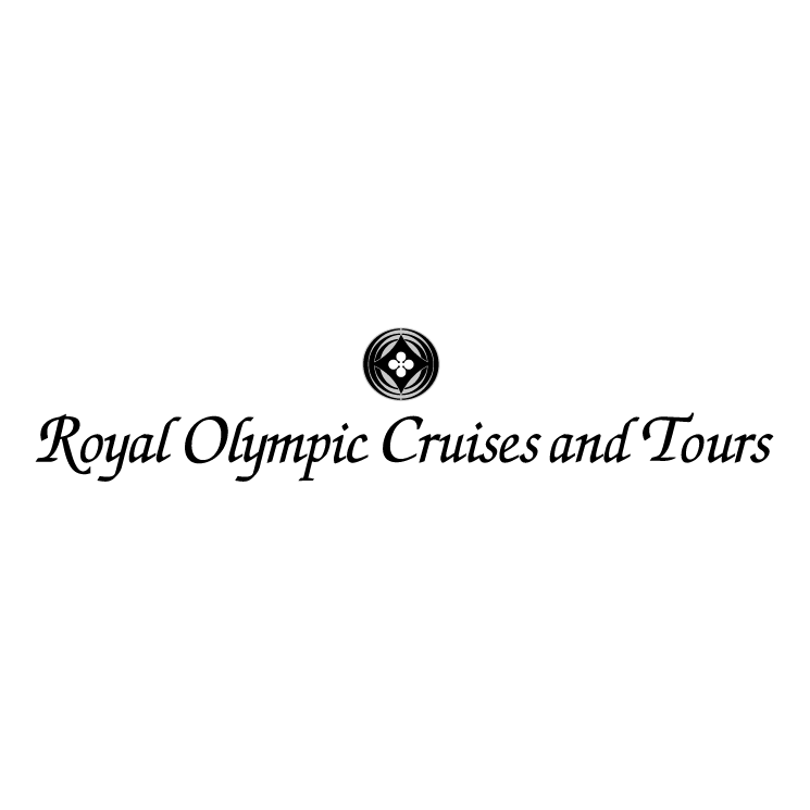 free vector Royal olympic cruises and tours