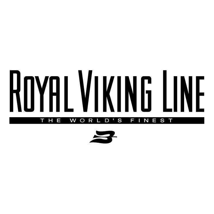 free vector Royal viking line