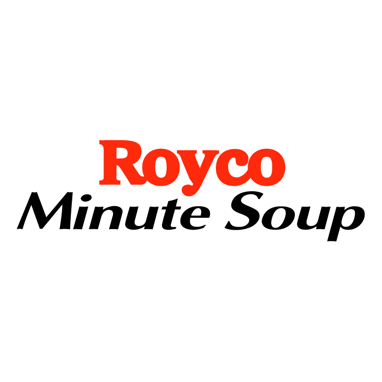 free vector Royco minute soup