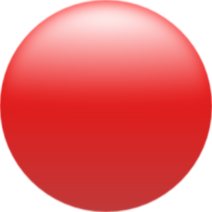 free vector Roystonlodge Simple Glossy Circle Button Red clip art