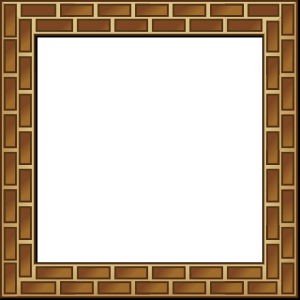 free vector Rpg Map Brick Border clip art