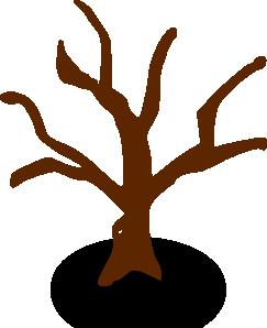 free vector Rpg Map Symbols Deserted Tree clip art