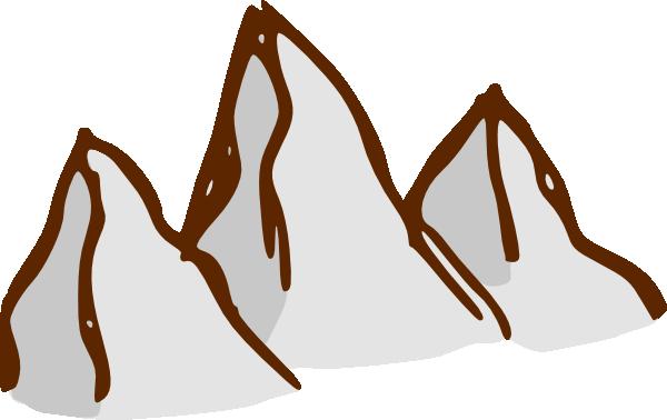 free vector Rpg Map Symbols Mountains clip art