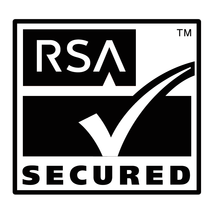 free vector Rsa secured 0