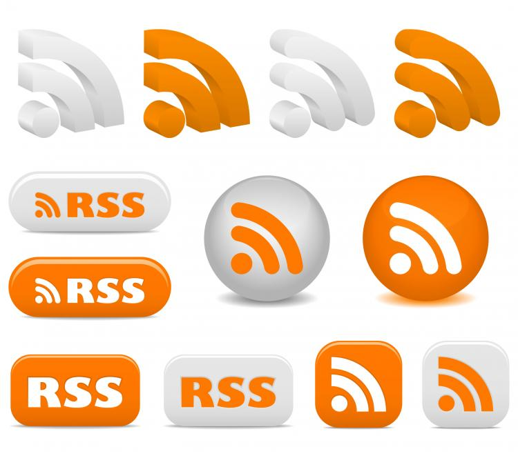 free vector Rss feed icon vector