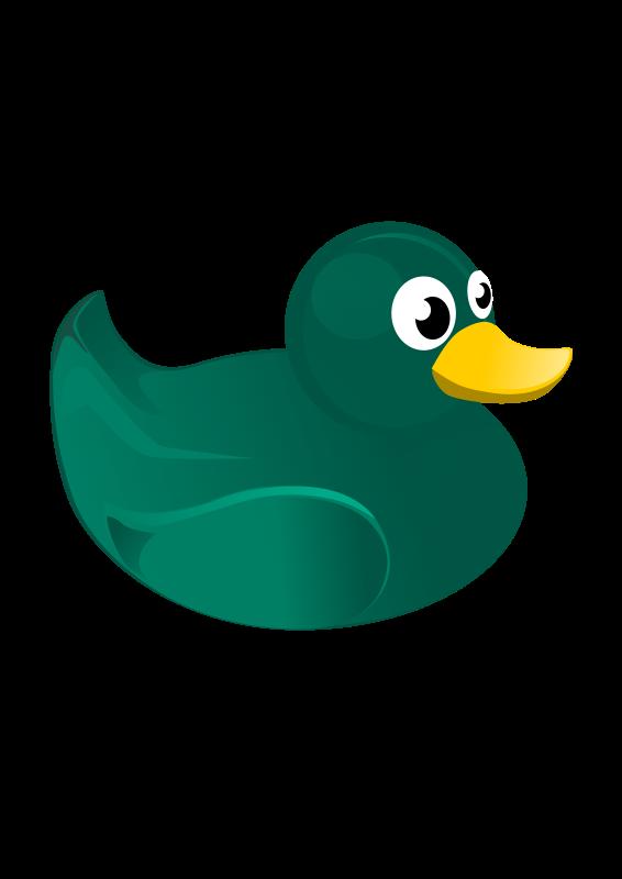 free vector Rubber Duck