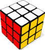 free vector Rubik Cube Game clip art