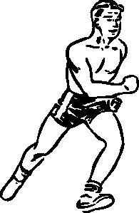 free vector Runner clip art