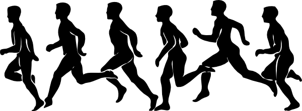 free vector Running Exercise clip art