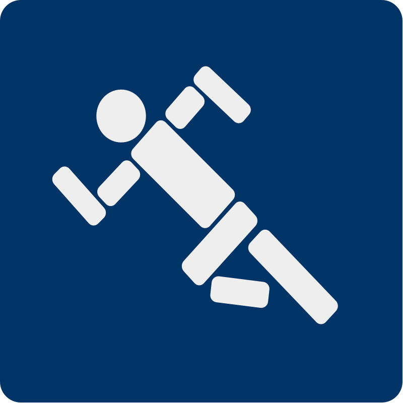free vector Running pictogram