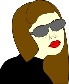 free vector Russian Spy Girl clip art 125908
