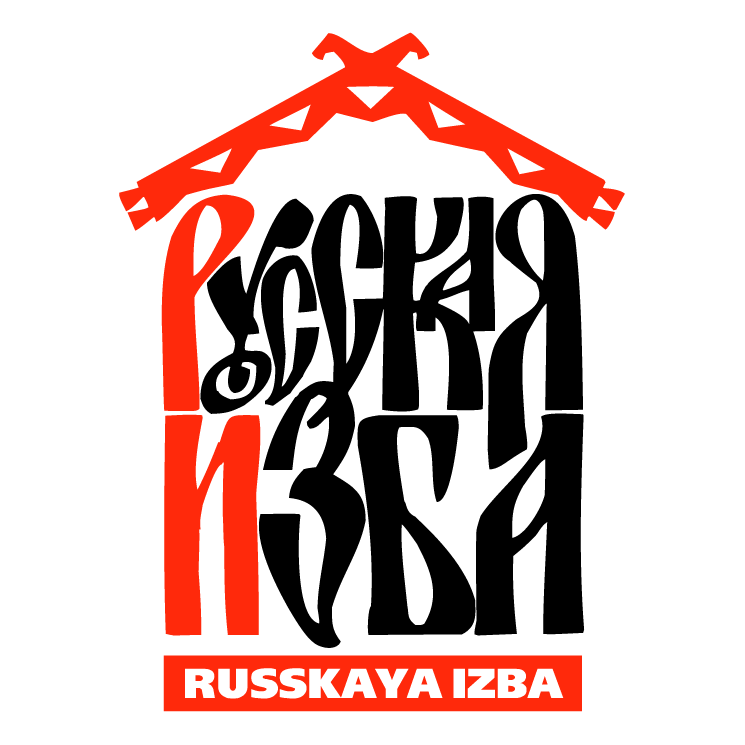 free vector Russkaya izba