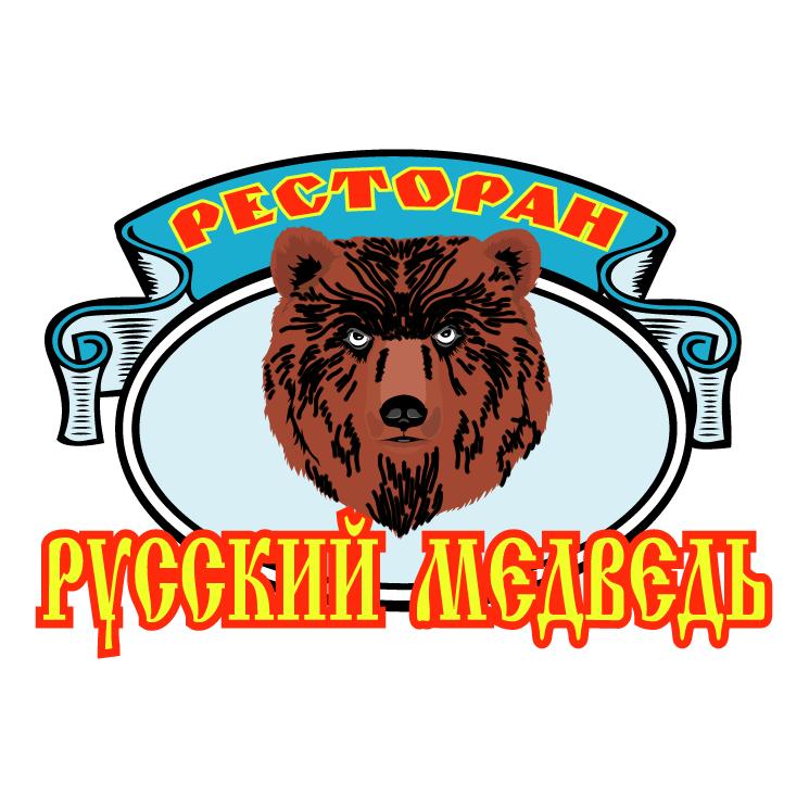 free vector Russkij medved