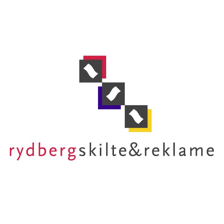 free vector Rydberg skilte reklame