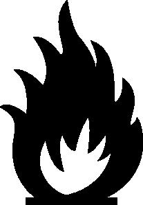 free vector Sabathius Fire Warning Symbol clip art