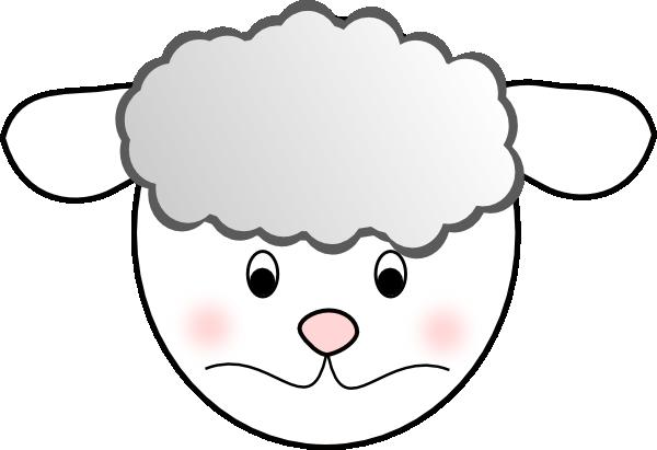 free vector Sad Sheep clip art