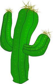 free vector Saguaro Cactus clip art