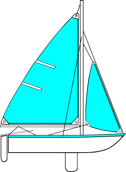 free vector Sailboat Illustration clip art