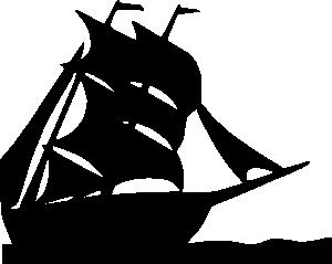 free vector Sailing Boat Silhouette clip art