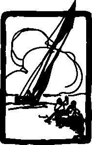 free vector Sailing clip art