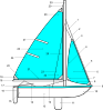 free vector Sailing Points Of Sail Illustrations clip art
