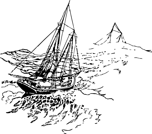 free vector Sailing Ship clip art