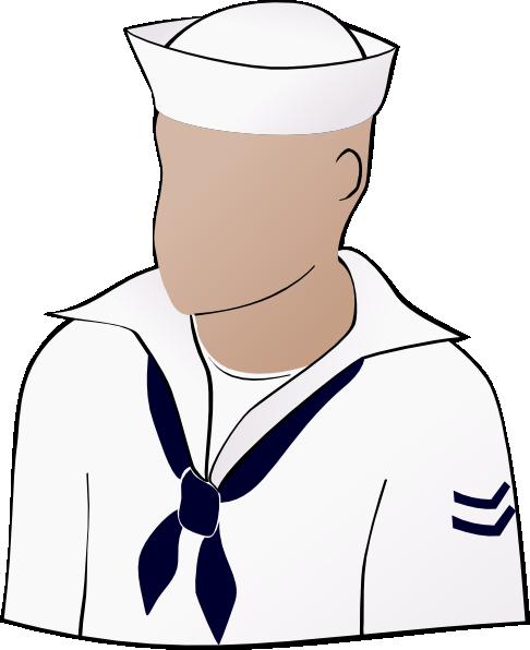 free vector Sailor Face clip art