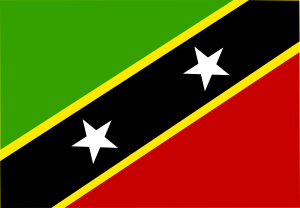 free vector Saint Kitts And Nevis clip art