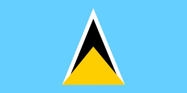 free vector Saint Lucia clip art