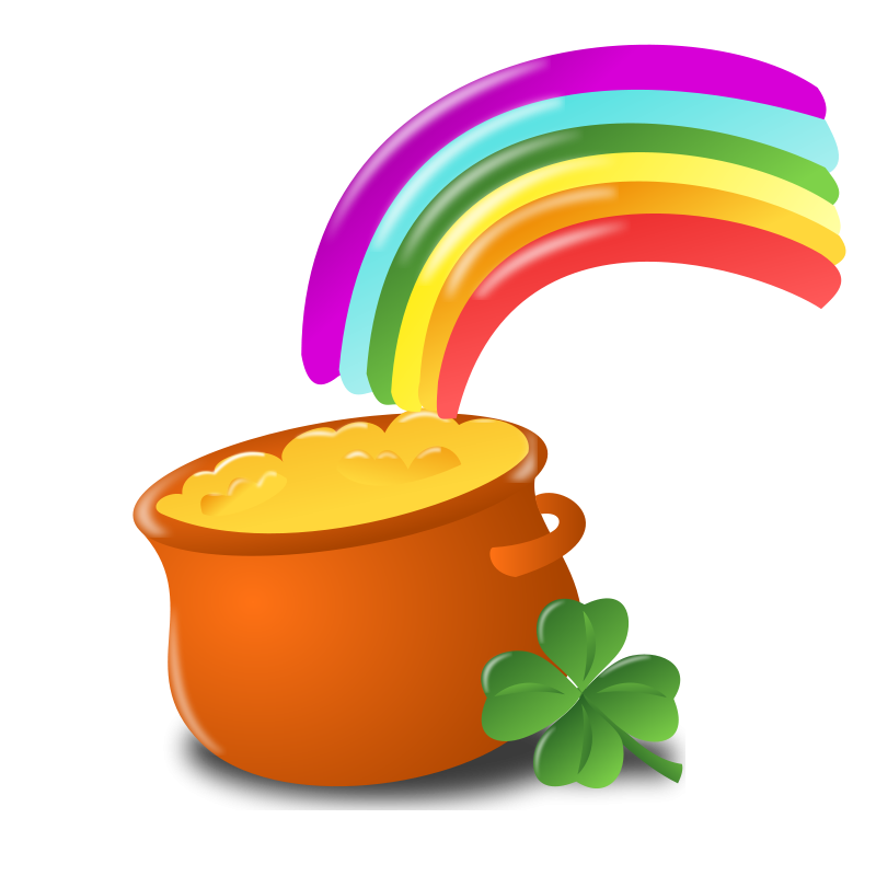 free vector Saint Patrick Day Icon