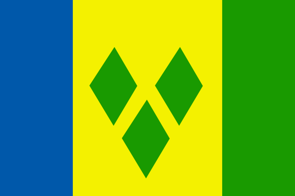 free vector Saint Vincent And The Grenadines clip art