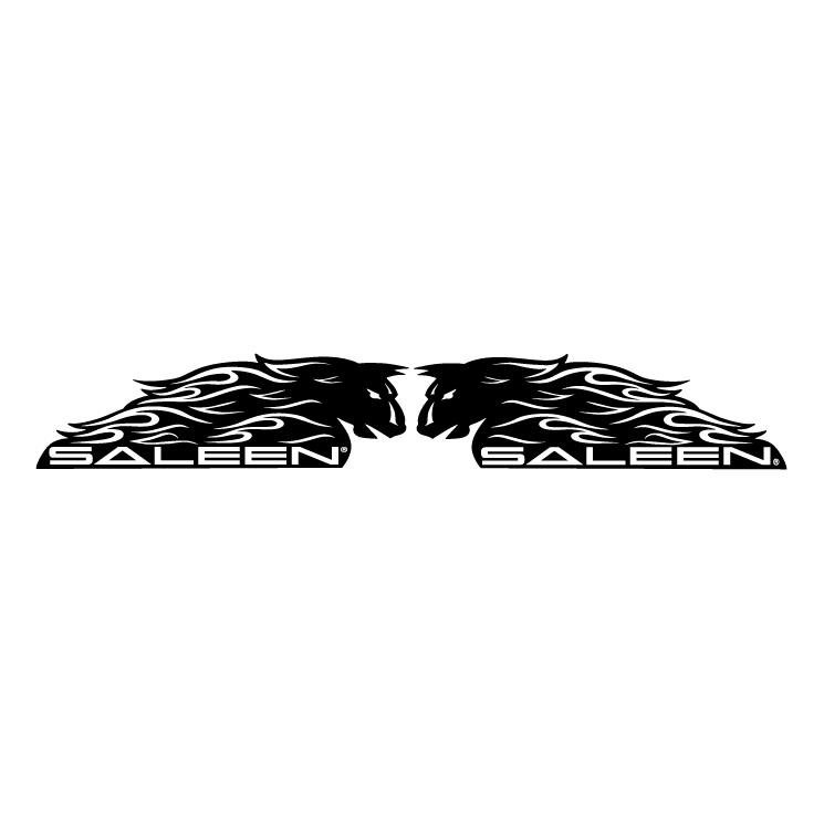 free vector Saleen mustang