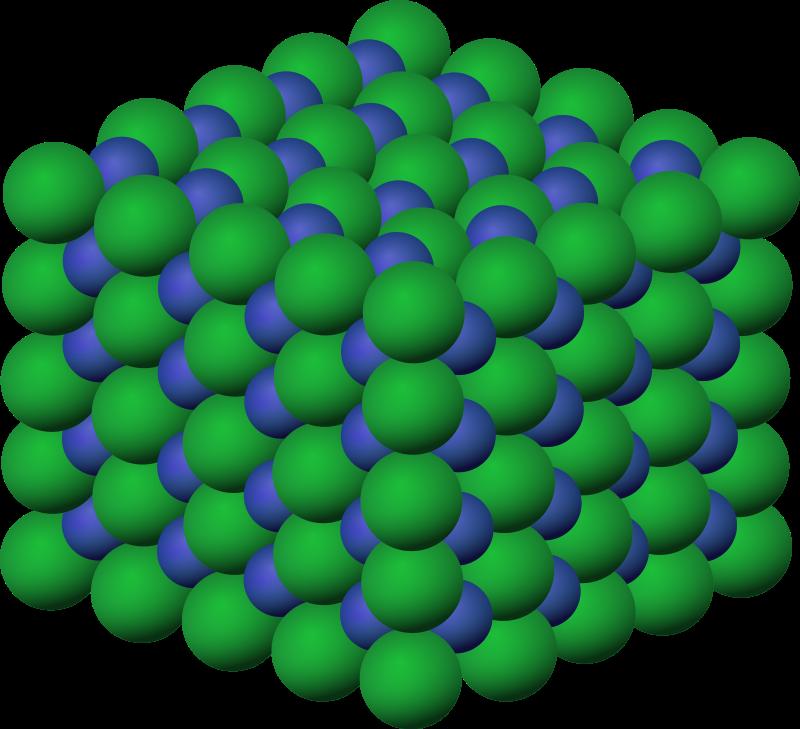 free vector Salt crystal