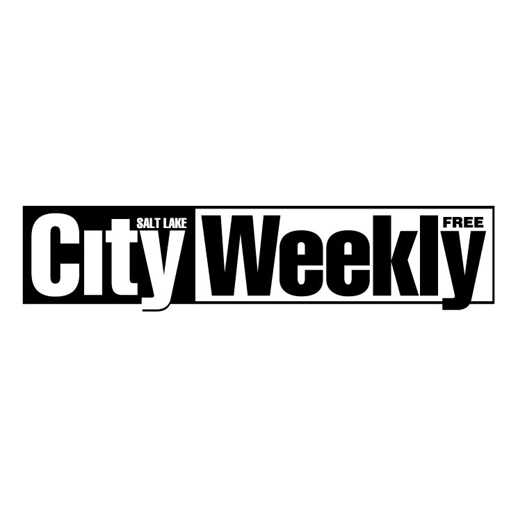 free vector Salt lake city weekly
