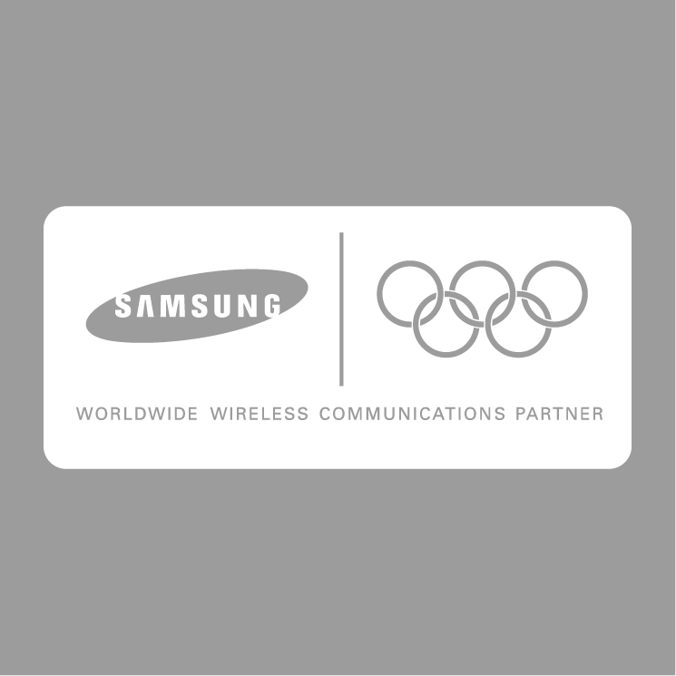 free vector Samsung olympic partner