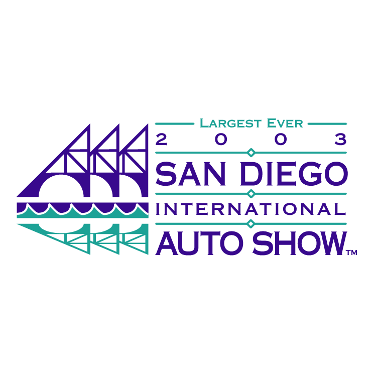 free vector San diego international auto show