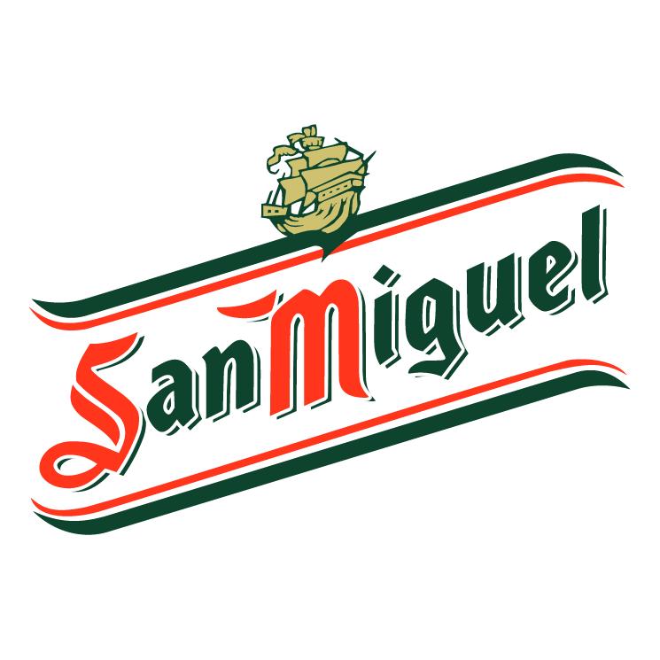 free vector San miguel cerveza 1