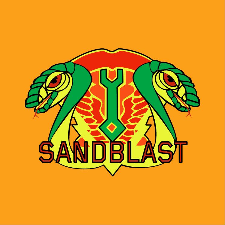 free vector Sandblast