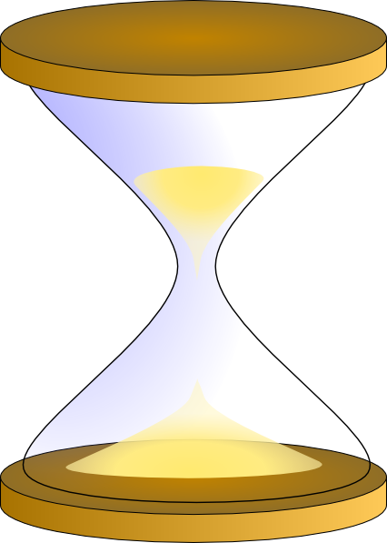 free vector Sandglass clip art