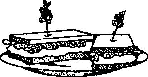 free vector Sandwich clip art