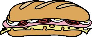 free vector Sandwich_one clip art