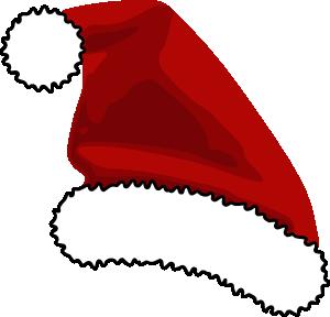 free vector Santa Cap clip art