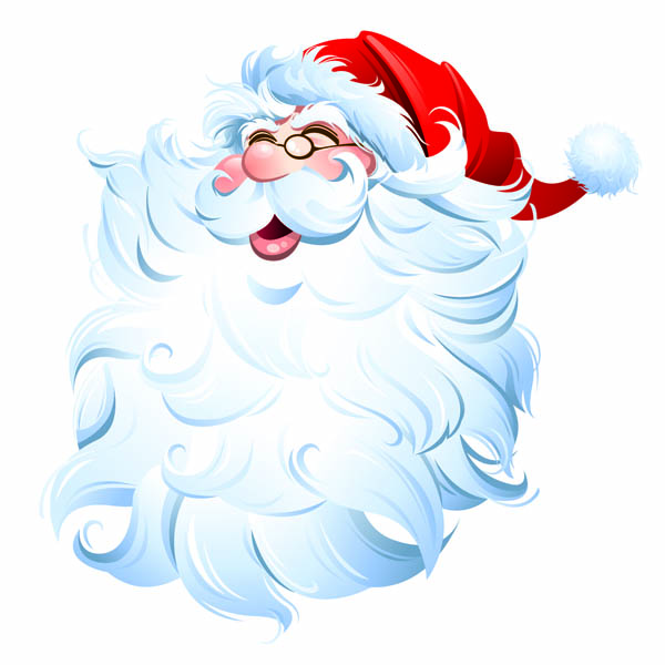 free vector Santa claus cartoon picture vector