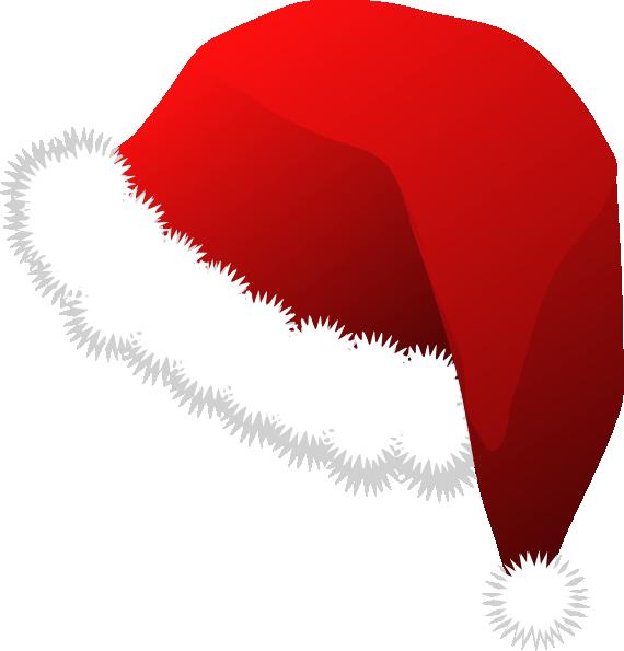 santa claus hat clip art free vector 4vector rh 4vector com christmas hat vector file christmas hat vector psd
