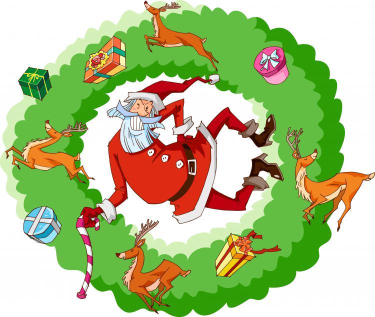 free vector Santa claus vector 4