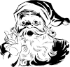 free vector Santa clip art